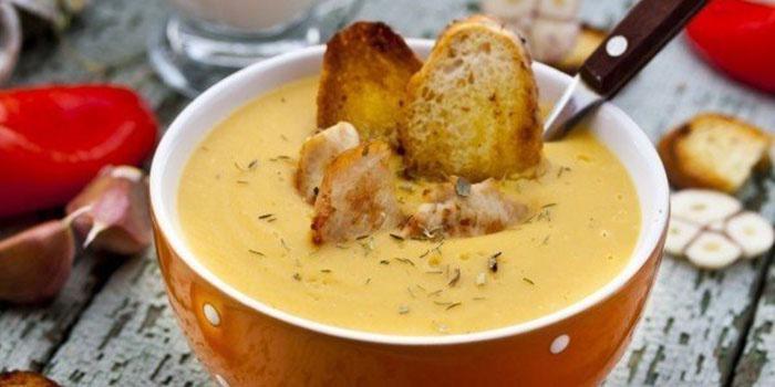 чечевичный суп по испански из трех сортов мяса