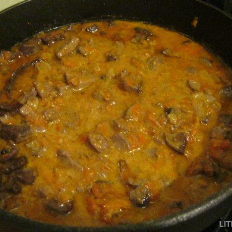 Приготовить печень быстро и вкусно пошаговый рецепт